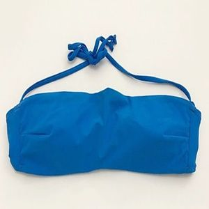Zara Swim - Zara Accessories Bandeau Bikini Bra Swim Top Blue